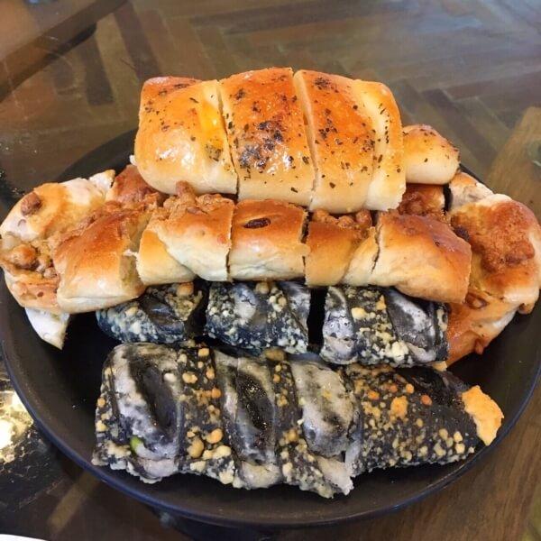 エスプレッソラウンジのパン
