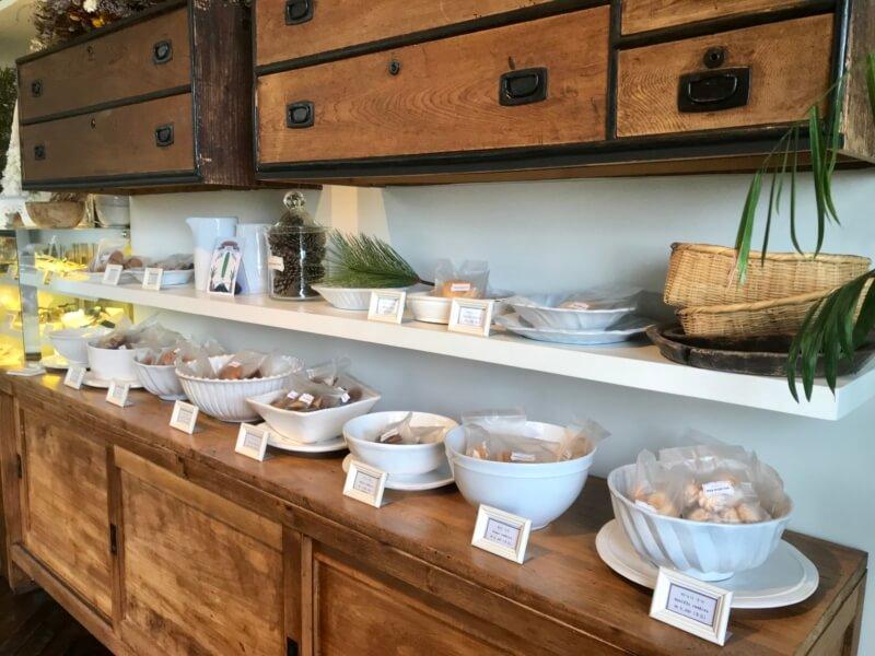 チェジュ島のカフェママロンの焼き菓子
