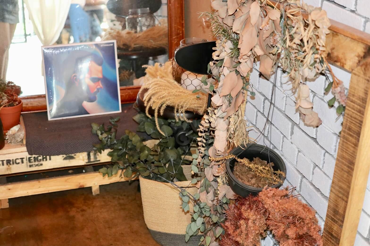 旧チェジュカフェ・アフターグローのお花